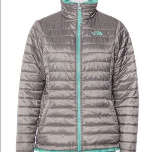 The North Face reversible down jacket